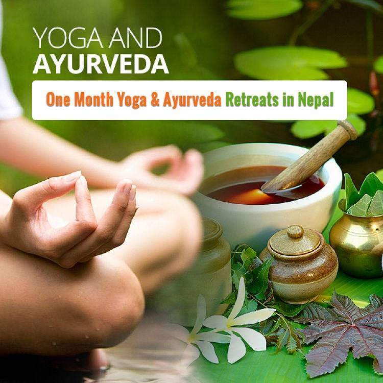 one month yoga and Ayurveda retreats in Nepal