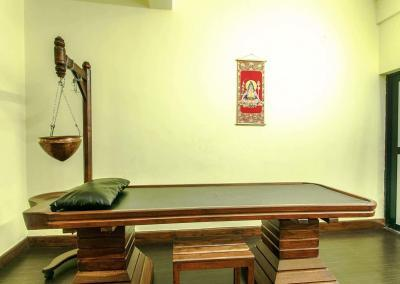 Shirodhara bed-Ayurveda