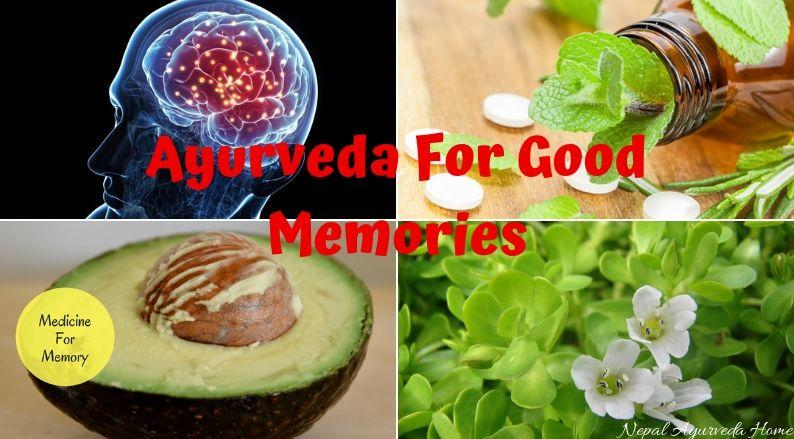Ayurveda For Good Memories