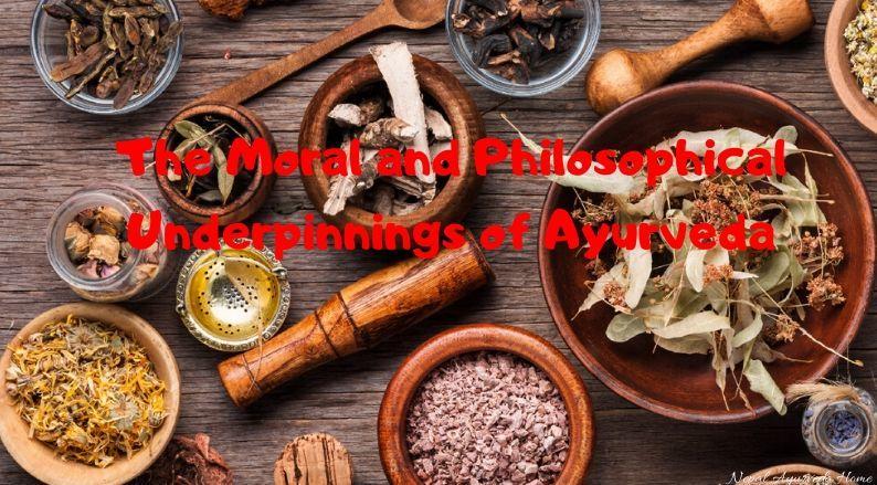 Ayurveda Philosophical Underpinnings