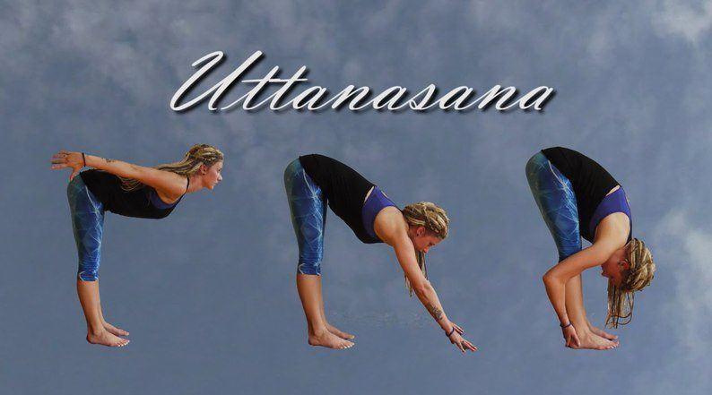 Uttanasana Steps